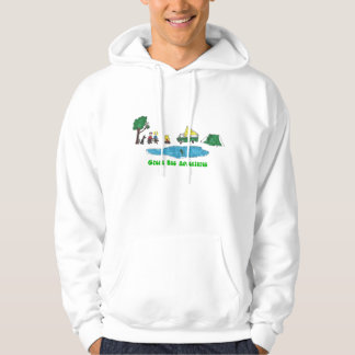 Green Bus Adventures Camping Hoodie