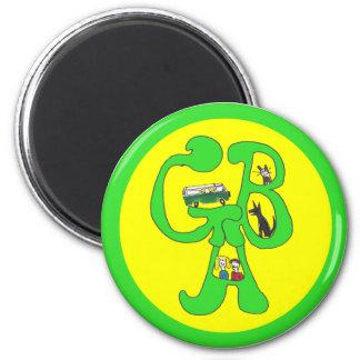 Green Bus Adventures Logo Magnet