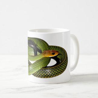 Green Bush Rat Snake Coffee Mug