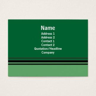 green business business card