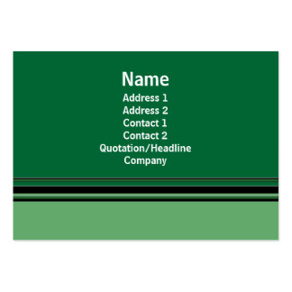 green business business cards