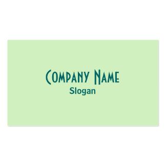 Green Business Card