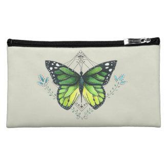 Green Butterfly Makeup Bag