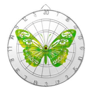 Green Butterfly Dart Board
