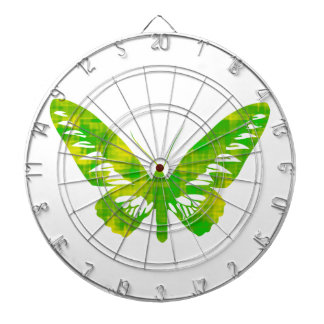 Green Butterfly Dart Boards