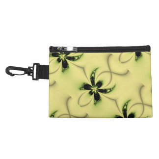 Green Butterfly Fractal Accessory Bag