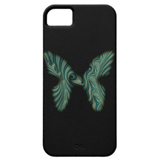 green butterfly iPhone 5 cover
