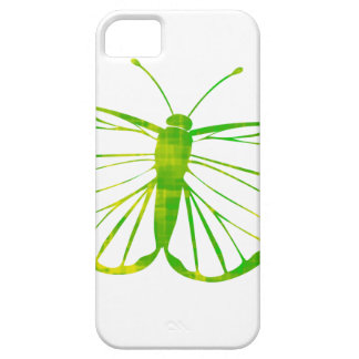 Green Butterfly iPhone SE/5/5s Case