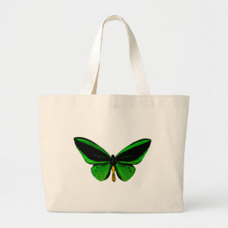 Green Butterfly Tote Bag