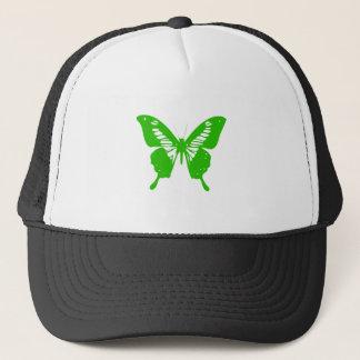 Green Butterfly Trucker Hat