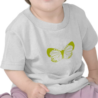 Green Butterfly Tshirts