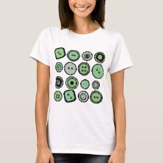 green buttons T-Shirt