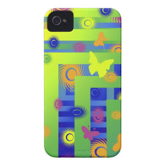 green buttrfly Case-Mate Case Case-Mate iPhone 4 Cases