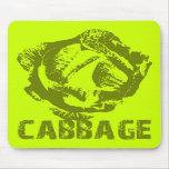 Green Cabbage Pop Art Mousepad