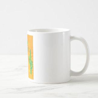 Green Cactus 3 Coffee Mug