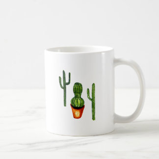 Green Cactus 4 Coffee Mug