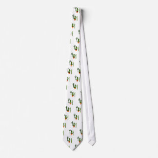 Green Cactus 4 Neck Tie
