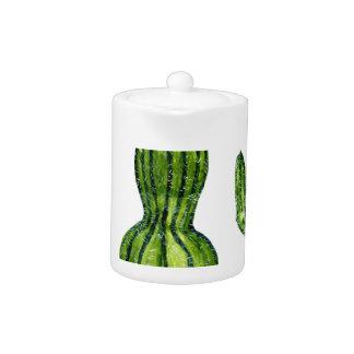 Green Cactus 4 Teapot
