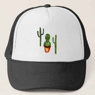 Green Cactus 4 Trucker Hat