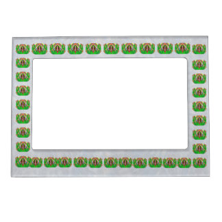 Green Cactus Bloom  - Click to see larger picture Magnetic Picture Frame