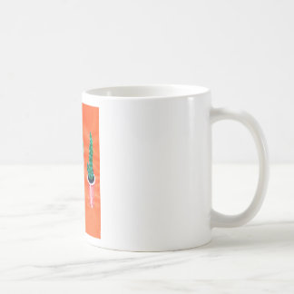 Green Cactus Coffee Mug