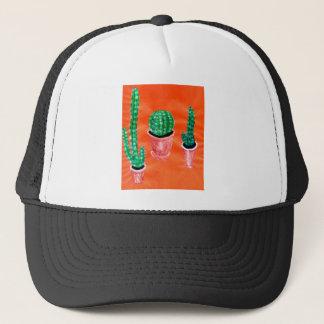 Green Cactus Trucker Hat