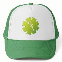 green caduceus medical gifts trucker hat