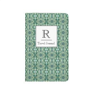 Green Caladium Pocket Journal