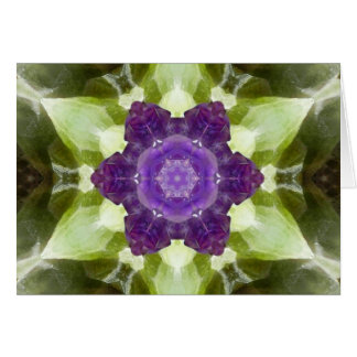 Green Calcite Angel Card