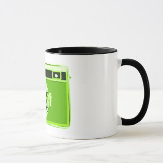 Green Camera Photography Business Mug