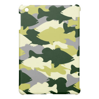 Green Camo Bass Fishing Case For The iPad Mini