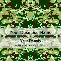 Camo design business cards templates zazzle green camo business card green camo business card colourmoves