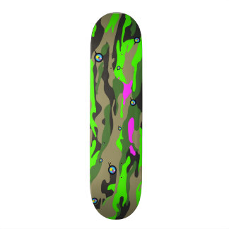 Green Camo by ilya konyukhov Skateboard Deck