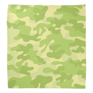 Green Camo Design Bandana