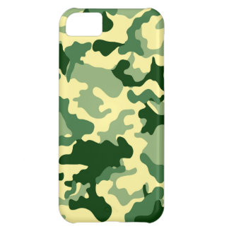 Green Camo Design iPad 5 Case Cover For iPhone 5C
