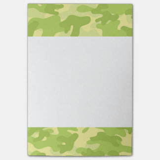 Green Camo Design Post-it Notes
