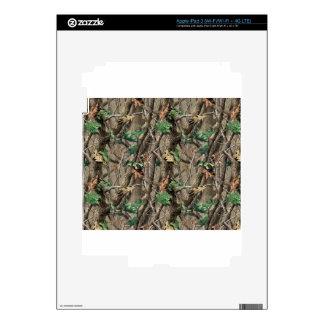 Green Camo iPad 3 Decals