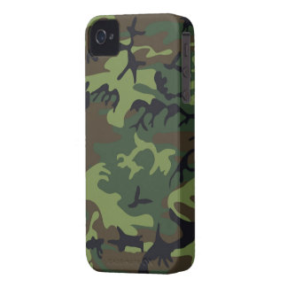Green Camo iPhone 4S Shell w/ID,Credit Card Holder Case-Mate iPhone 4 Case