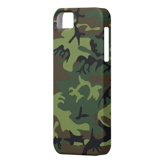 big sale 2e918 be9c4 Green Camo iPhone 5S Shell w/ID,Credit Card Holder Case-Mate iPhone Case