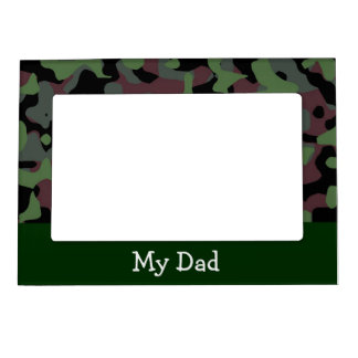 Green Camo Magnetic Frames