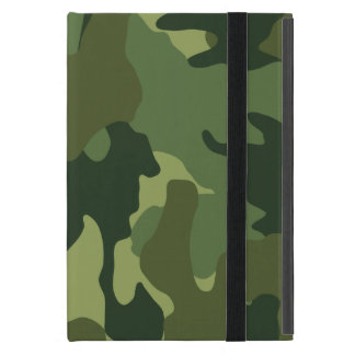 Green Camo Military Powis iCase iPad Mini Case