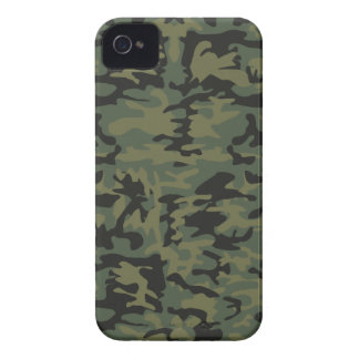 Green camo pattern iPhone 4 Case-Mate cases