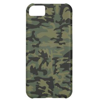 Green camo pattern iPhone 5C case
