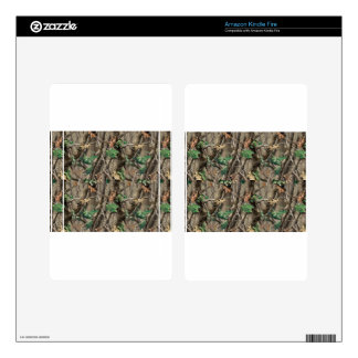Green Camo Skin For Kindle Fire