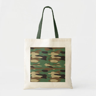 Green Camouflage Bag