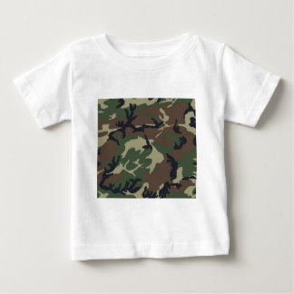 Green Camouflage camo Baby T-Shirt