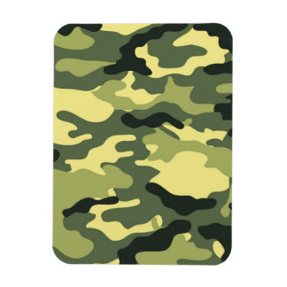Green Camouflage Camo texture Magnet