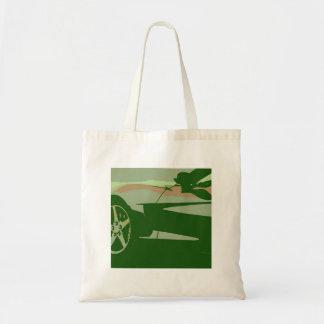 Green Camouflage Corvette Canvas Bags