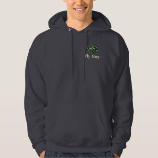Green Camouflage fly fishing lure Hoodie