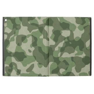 Green Camouflage iPad Pro Case